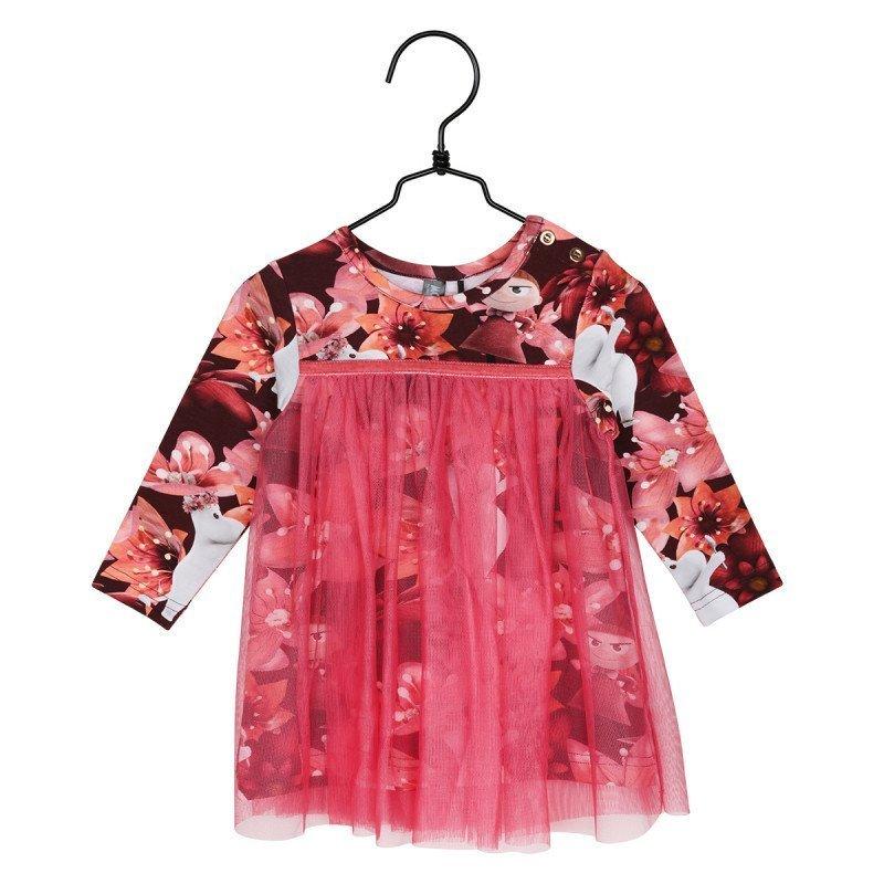 Muumi lasten Pikku Myy mekko, punainen « Martinex
