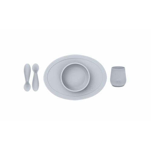 eZpZ First Food Set, pewter/siniharmaa