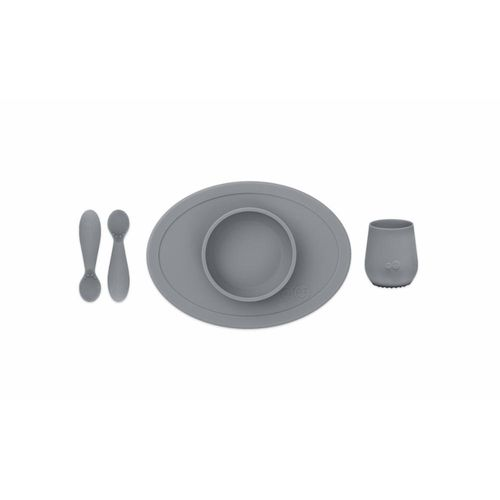 eZpZ First Food Set, gray/harmaa